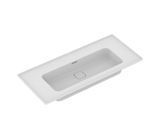Strada II Möbelwaschtisch 1000 mm, ohne Hahnloch by Ideal Standard | Wash basins