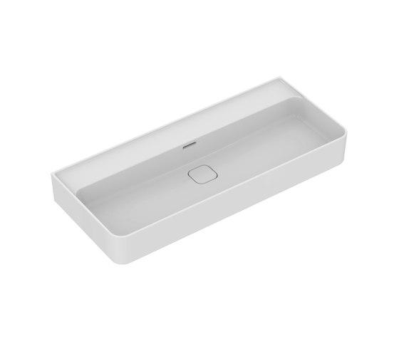 Strada II Waschtisch 1000 mm, ohne Hahnloch by Ideal Standard | Wash basins