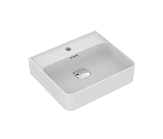 Strada II Waschtisch 500 mm, Unterseite geschliffen by Ideal Standard | Wash basins