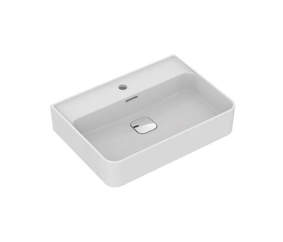 Strada II Waschtisch 600 mm, Unterseite geschliffen by Ideal Standard | Wash basins