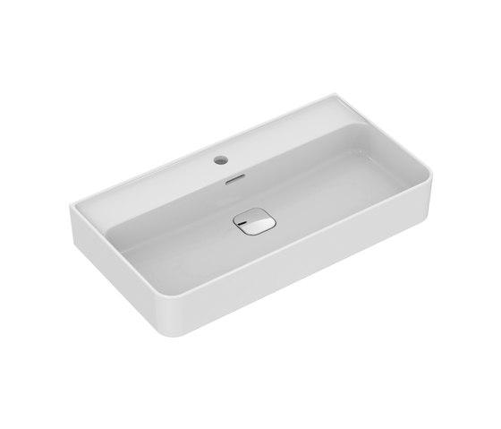 Strada II Waschtisch 800 mm, Unterseite geschliffen by Ideal Standard | Wash basins