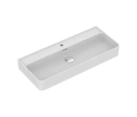 Strada II Waschtisch 1000 mm, Unterseite geschliffen by Ideal Standard   Wash basins
