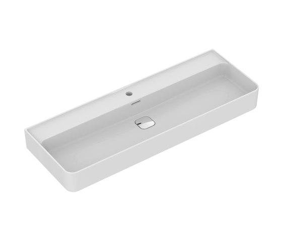 Strada II Waschtisch 1200 mm, Unterseite geschliffen by Ideal Standard | Wash basins