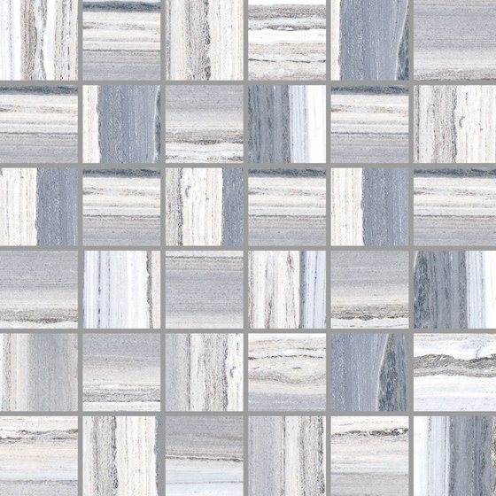 Palissandro Azul | Mosaico by Rondine | Ceramic mosaics
