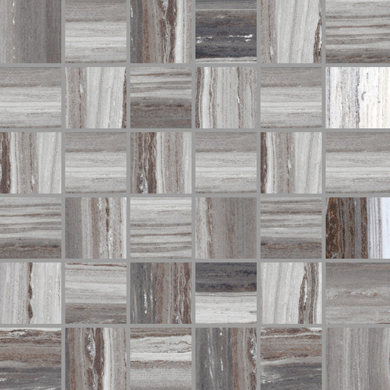 Palissandro Dark | Mosaico von Rondine | Keramik Mosaike