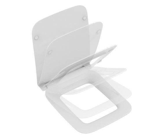 Strada II WC-Sitz Softclosing (Sandwich) by Ideal Standard | WC