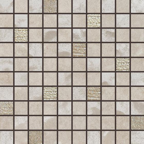 Pietre Di Fiume Beige | Mosaico Mix de Rondine | Mosaïques céramique