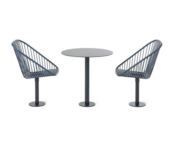 Korg chair and table by nola | Dining tables