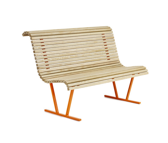 Cane backed bench de nola | Bancos