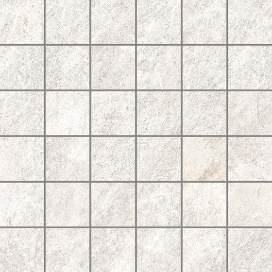 Quarzi White | Mosaico de Rondine | Mosaïques céramique