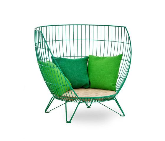 Basket armchair / Small von nola | Sessel