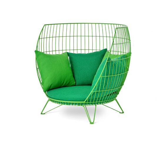 Basket armchair / Small di nola | Poltrone