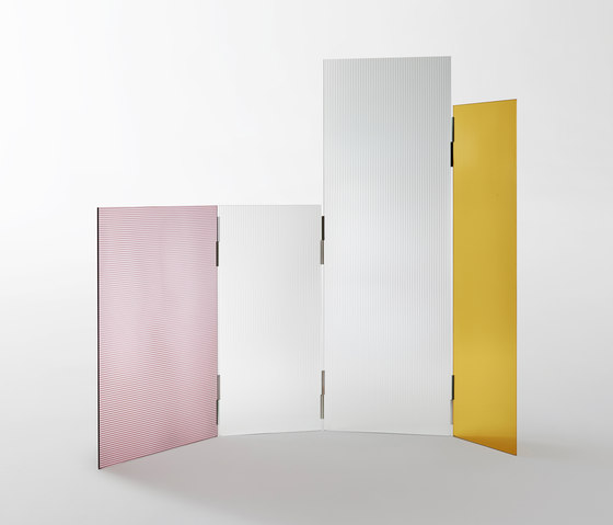 Rayures by Glas Italia | Folding screens