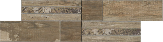 Salvage Brown | Fascia by Rondine | Ceramic tiles