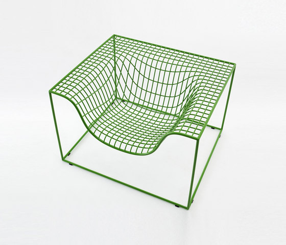 Grid armchair by nola | Armchairs