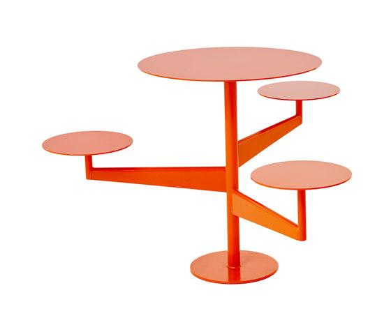 Pivot café table and seat di nola | Tavoli e panche