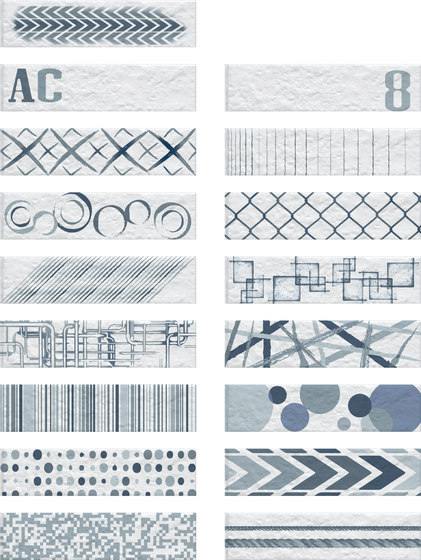 Urban & Colors Baltic | Track Brick de Rondine | Carrelage céramique