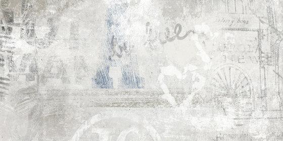 Volcano White   Graffiti Mix von Rondine   Keramik Fliesen