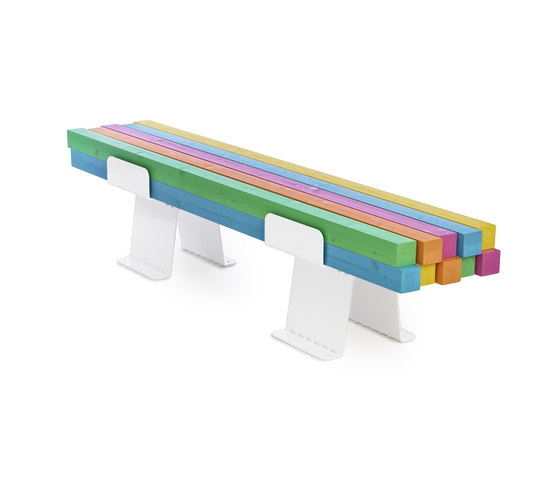 Pylon bench by nola | Playground equipment