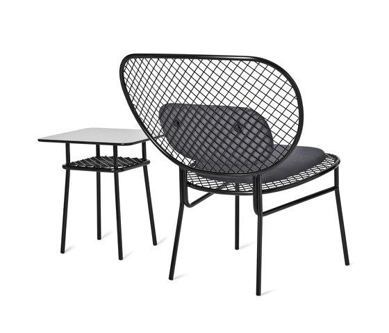 Wimbledon side stool and low table de nola   Mesas auxiliares