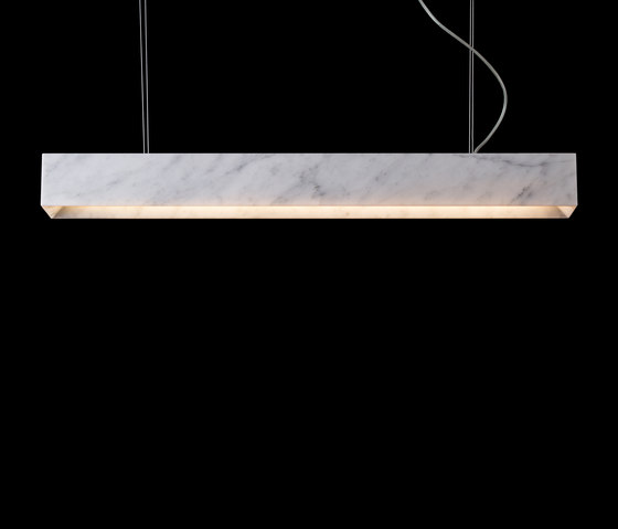 Block Long by Mondo Marmo Design   Suspended lights