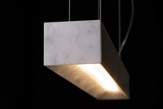 Block Long by Mondo Marmo Design | Suspended lights