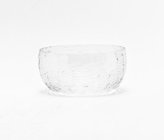 Wicker Glass Bowl by tre product | Bowls