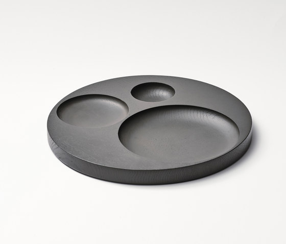 Moln Tray Big Grey de tre product | Bandejas