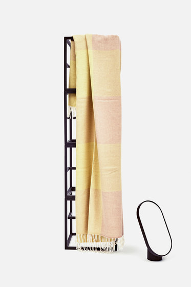 Blend Throw Yellow/White by tre product | Plaids