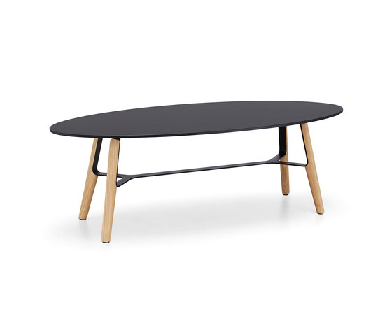 Liù CT oval by Midj | Coffee tables