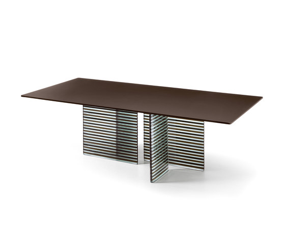 BIG WAVE table by Fiam Italia | Dining tables