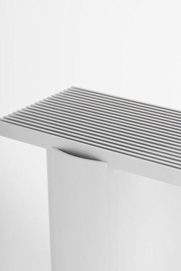 Vent Table Aluminium de tre product | Mesas auxiliares