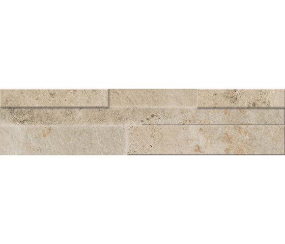Springstone   Ivory Muretto 3D by Marca Corona   Ceramic tiles