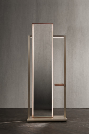 Continuum Mirror | dumb waiter by Flou | Mirrors