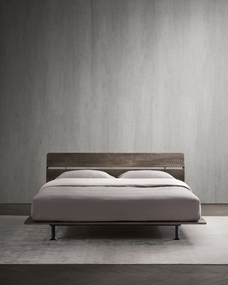 Tadao Double-size bed by Flou | Beds