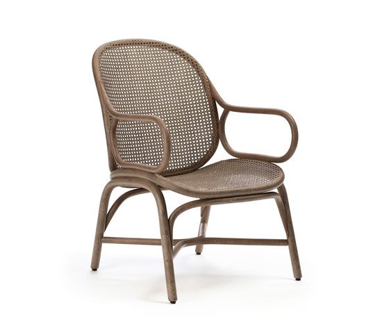 Frames Low backrest armchair by Expormim | Armchairs