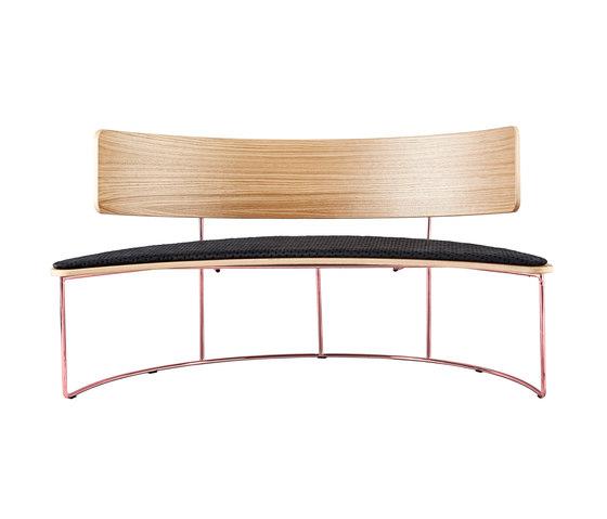 Boomerang Bench von Missana | Sitzbänke