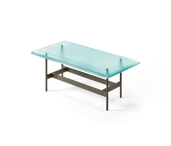 WAVES table basse de Fiam Italia | Tables d'appoint