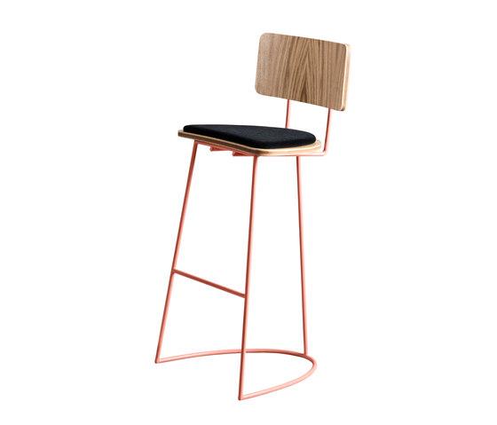Boomerang Stool by Missana   Bar stools