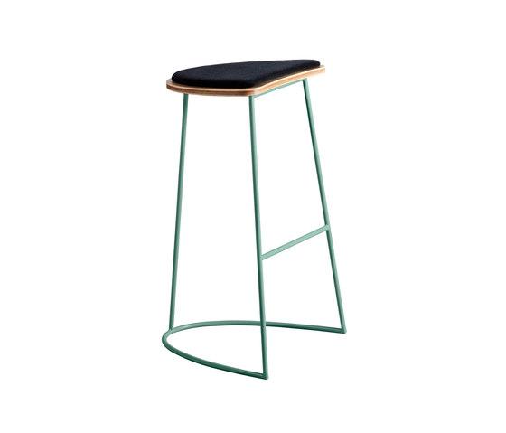 Boomerang Stool by Missana | Bar stools