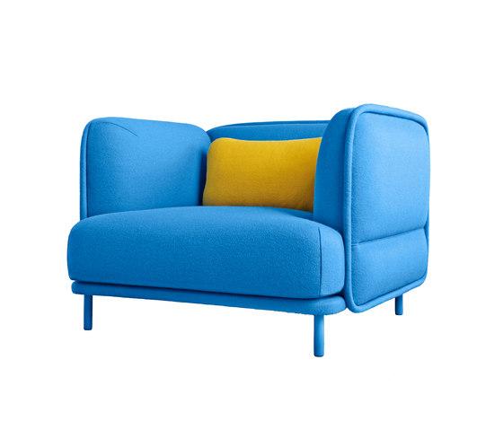 Hug Armchair von Missana | Sessel