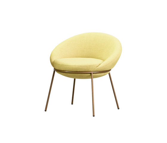Nest Low Stool by Missana   Armchairs