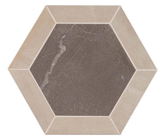 Stoneone | Olive Esagono von Marca Corona | Keramik Fliesen