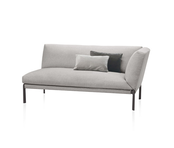 Livit module with armrest by Expormim | Chaise longues