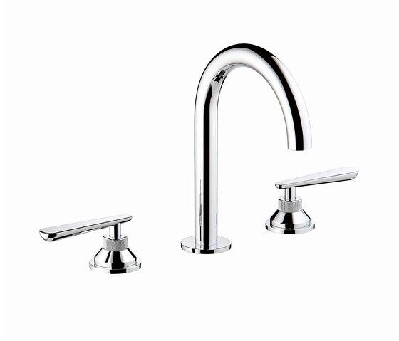 Dean   Rim mounted 3-hole basin mixer de THG Paris   Grifería para lavabos