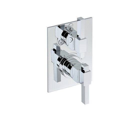 Marina | Trim for THG thermostat by THG Paris | Shower controls