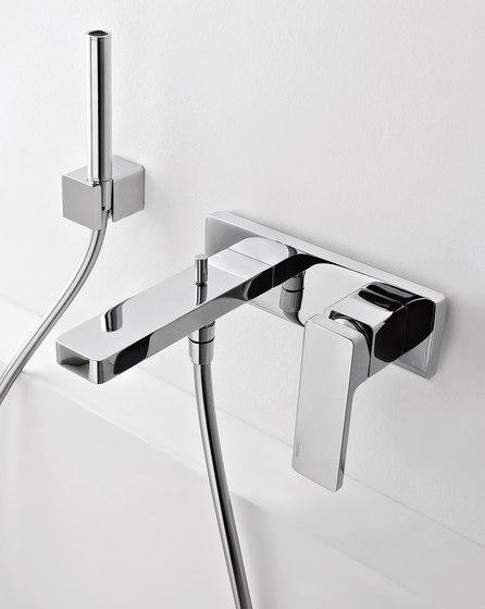 Qquadro by Rubinetterie Zazzeri | Bath taps