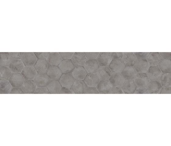 Terra | Antracite Esagona von Marca Corona | Keramik Fliesen