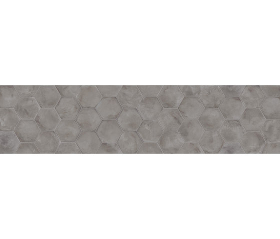 Terra | Antracite Esagona di Marca Corona | Piastrelle ceramica