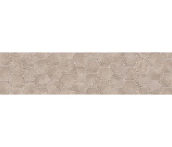 Terra | Grigio Esagona by Marca Corona | Ceramic tiles